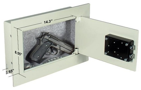 safes that spot welded and use thinner sheet metal in most cases but itu0027s fairly small and will hardly fit anything much more than just a pistol and a