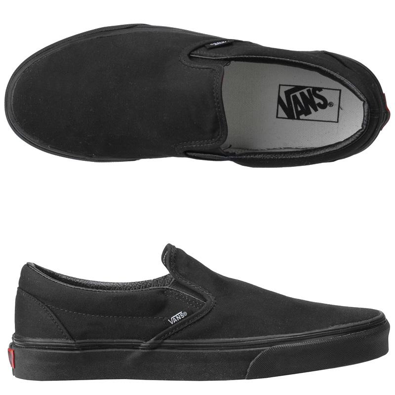 Vans Classic Slip-On Black/Black