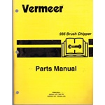 Vermeer 935 Brush chipper parts #662+
