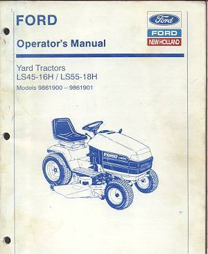 ford ls lawn tractor parts
