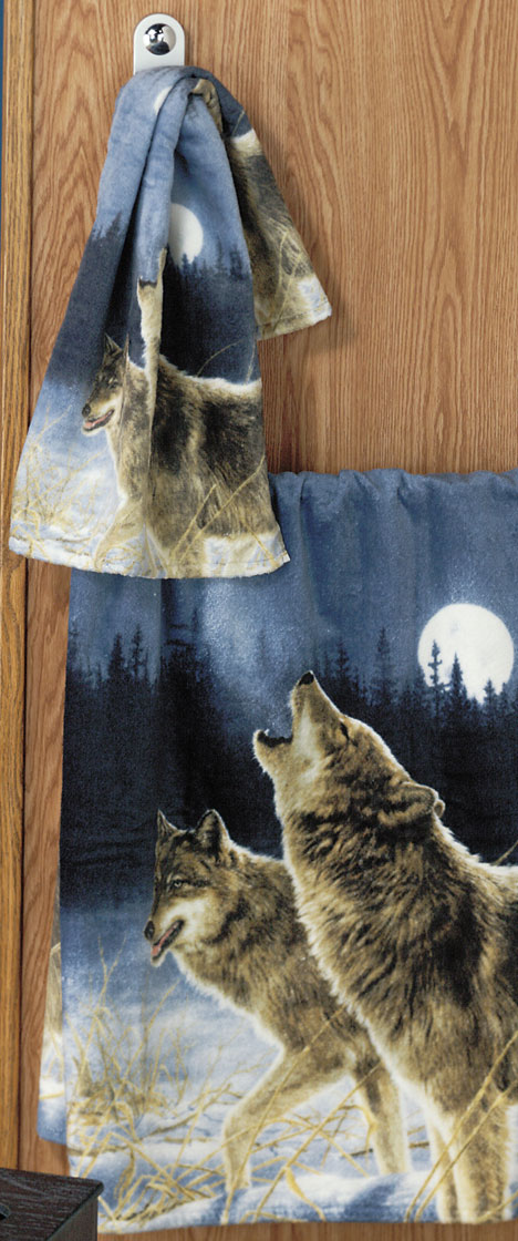 Shopzilla - Wolf Shower Curtain Bath Accessories shopping - Home