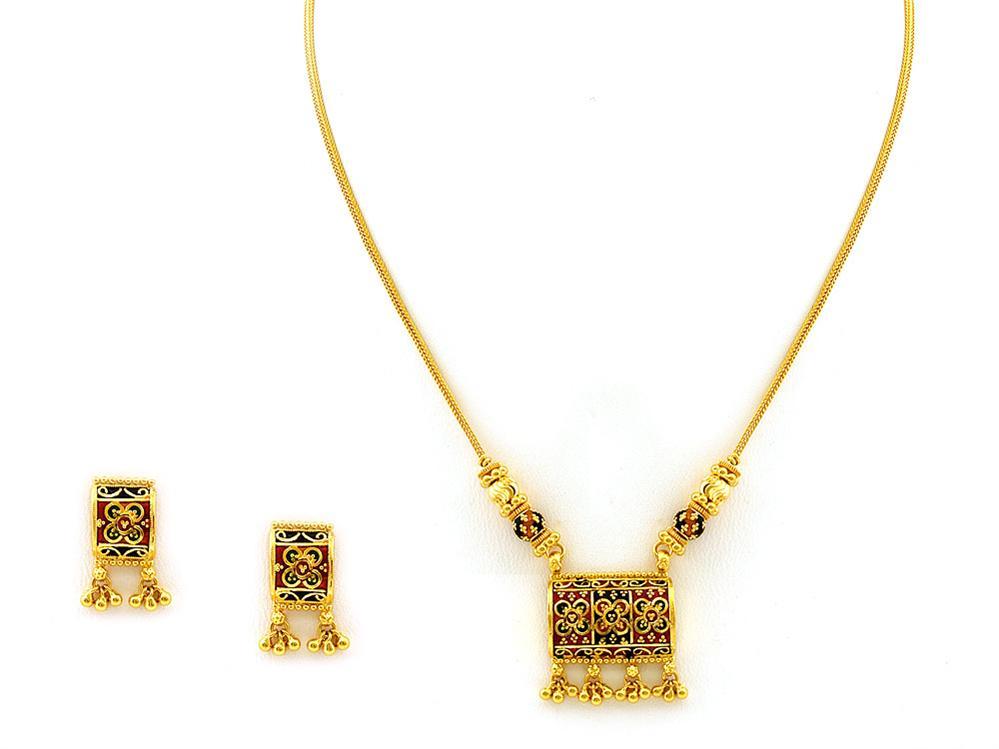 Gold 22 Karat Gold Indian Jewelry