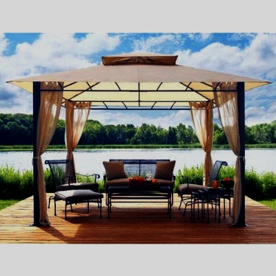 Sunjoy Summer Veranda 10 x 10 Canopy - L-GZ093PST