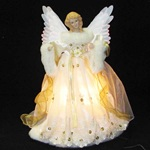 Animated Fiber Optic Angel Tree Topper