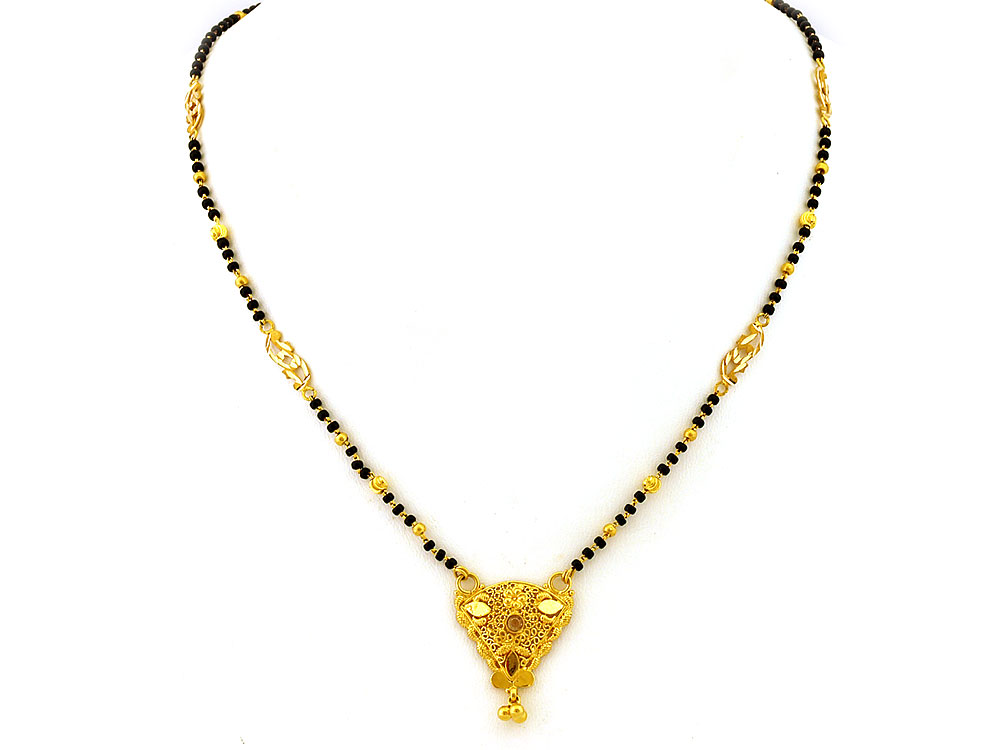 Gold Mangalsutra Designs image search results