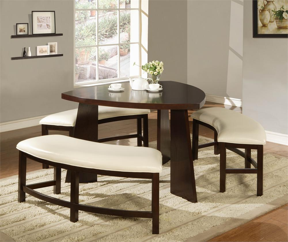 Attractive Cool Triangle Dining Table 9e16