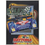 2000 Rolex 24 Hours at Daytona original event poster
