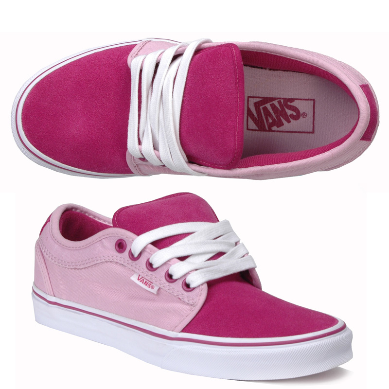 Vans Womens Chukka Low Canvas Pink