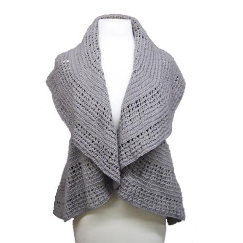 Circle scarflette - Crochet Me