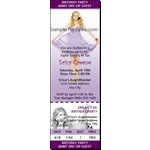 Taylor Swift Birthday Party Ticket Invitation