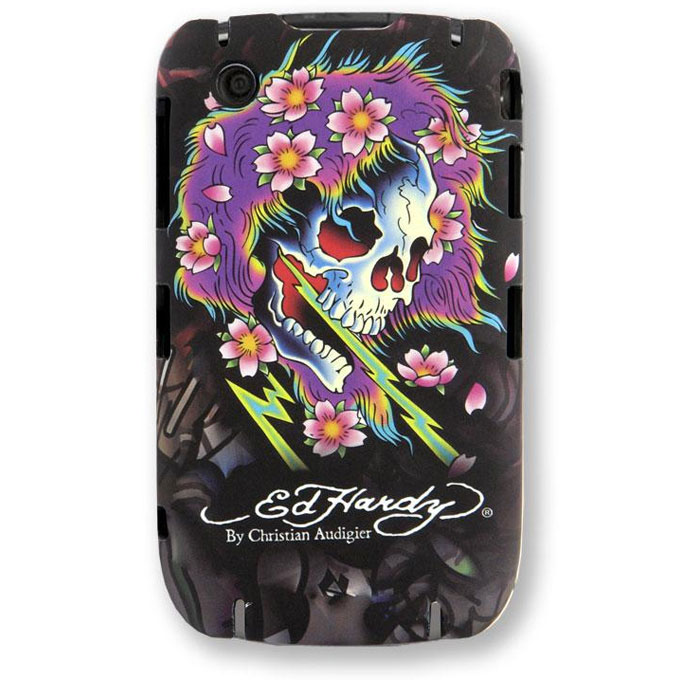 BlackBerry Curve 8520 / 8530 Snap-On Case - Beautiful Ghost