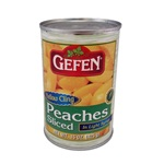 Gefen Yellow Peach Slices - 15 oz.