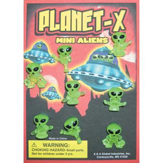 planet x mini aliens figurines