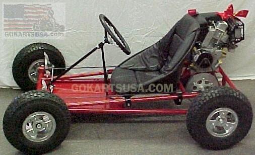 Go Kart Blueprints. Gokart midget slick track