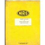 MRS M-R-S A80 tractor parts - original RARE!