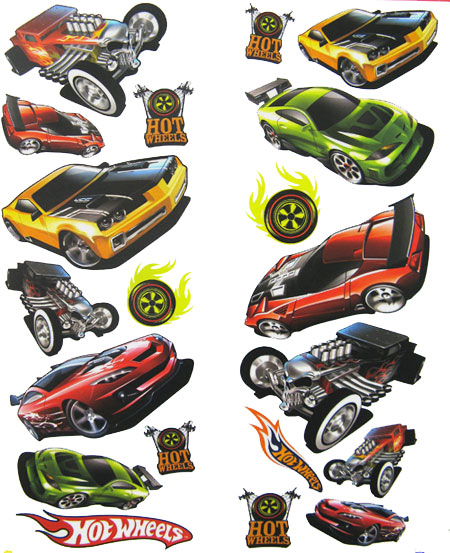 hot wheels wall stickers 32 hot wheel decals peel and original hot wheels logo wall vinyl decal sticker item 0297