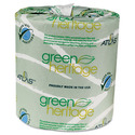 Atlas Tanks Atlas Paper Mills Green Heritage Bathroom Tissue, 2-Ply, 500 Sheets, White, 96 per Carton - 250GREEN