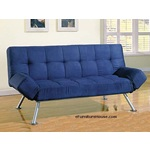 Blakely Micrifiber Adjustable Futon Sofa Bed