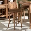 American Drew Antigua Round Swivel Stool - Toasted Almond