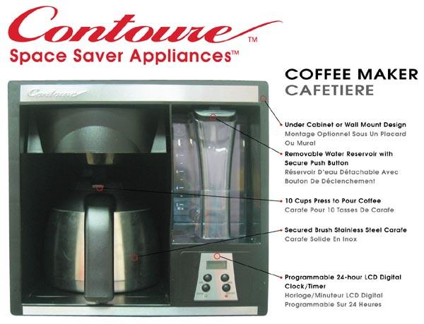 302 found - Space saving coffee maker ...