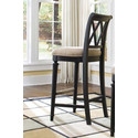 American Drew Bar Stool Bar Height 919691 American Drew (663086130704)
