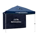 Seattle Seahawks Gazebo w/ Side Wall 10'x10' Canopy Tailgate Tent