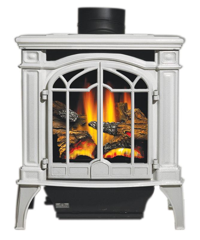 make cast iron fireplace black