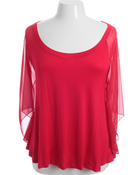 Red Lace Blouse Plus Size 88