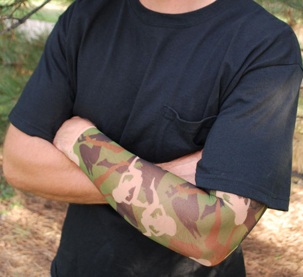 Camo Tattoo Sleeve