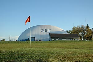 Climate controlled facilities at Longview Golf Centre