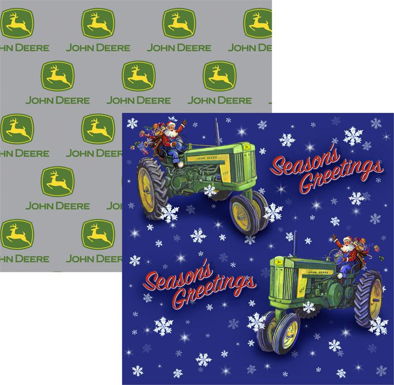 john deere wrapping paper