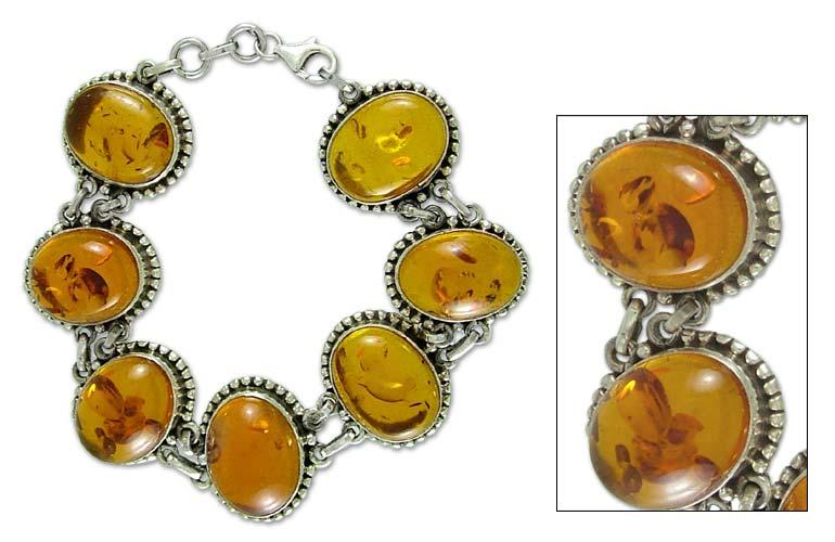 link bracelets for women. Amber link bracelet,