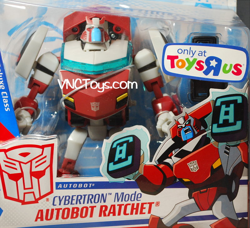transformers 3 toys ratchet. Ratchet Cybertron Mode Toys R Us Transformers Animated Deluxe