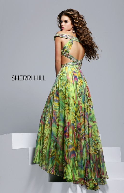 Tropical Evening Dresses - Prom Dresses With Pockets