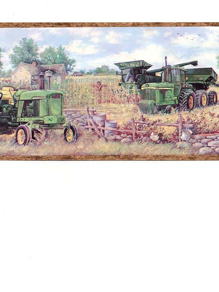 pics photos john deere tractor wallpaper border