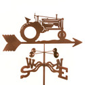 Tractor Weather vane (Garden Fun) (EZ891)