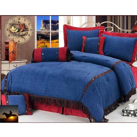 Jean Comforter Bedding Blue Jean Western Comforter