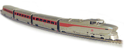1-8761 AeroTrain GM Demonstrator 4 car set (N Scale) – Scale Model ...