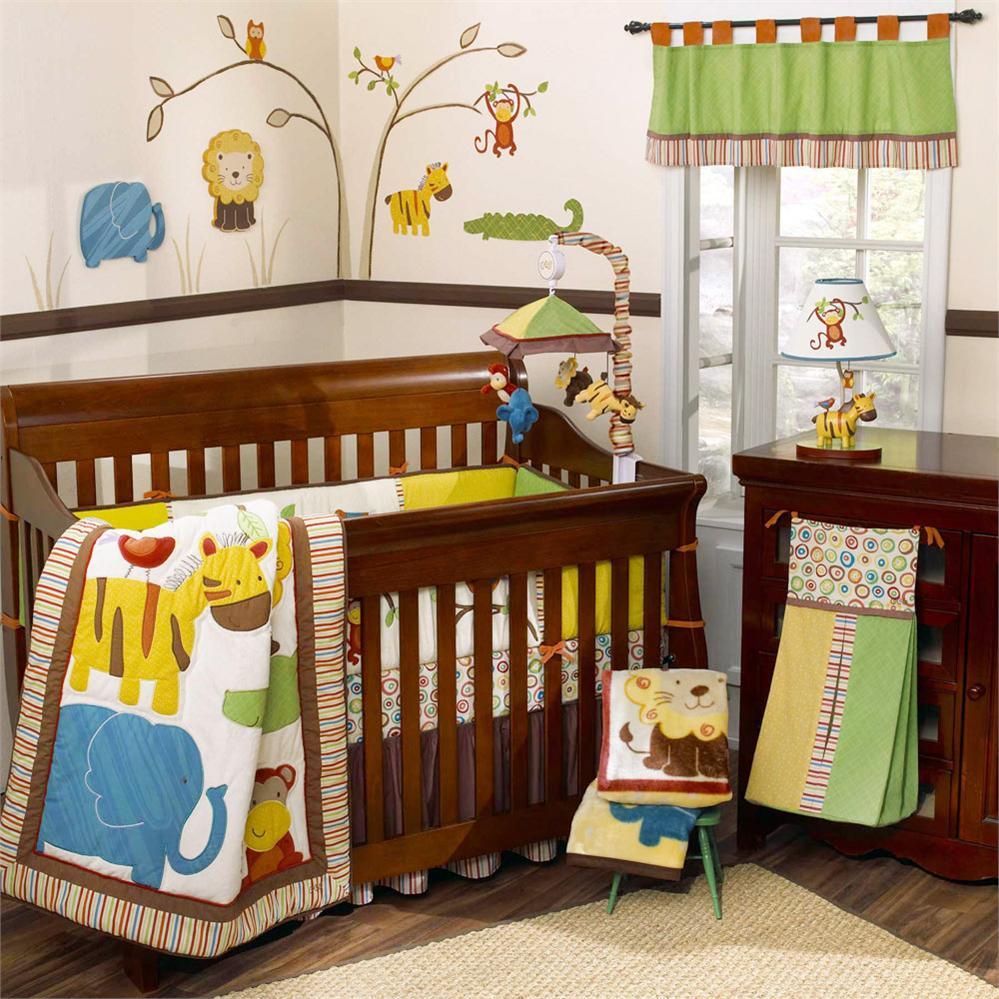 Baby Boy Nursery Bedding Giraffe
