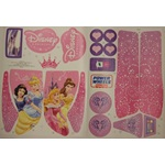 Power Wheels R1502-0310 Princess Trailrider Stickers