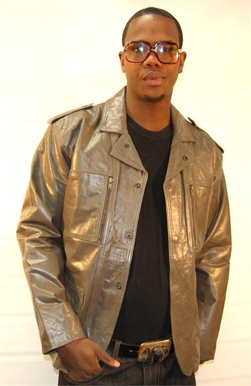 Leather Jacket Men Style. Blazer Style Gray Mens Leather