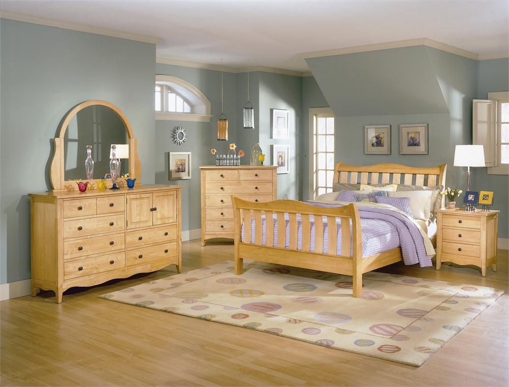 maple bedroom furniture sets on homelegance brookwood maple bedroom