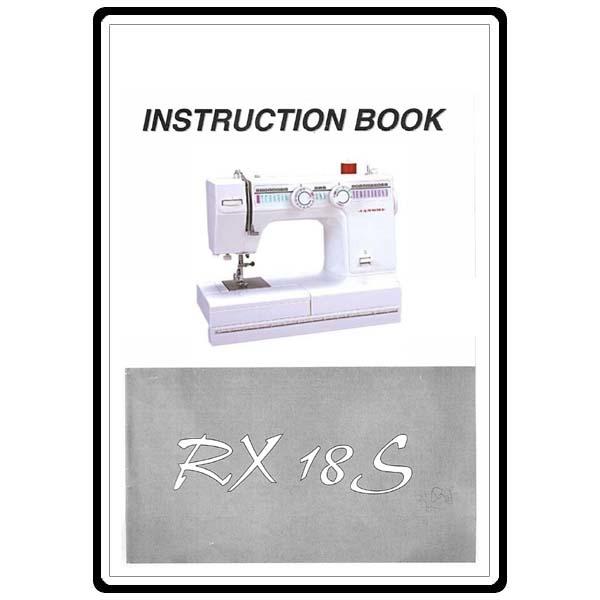 Janome rx 18s инструкция