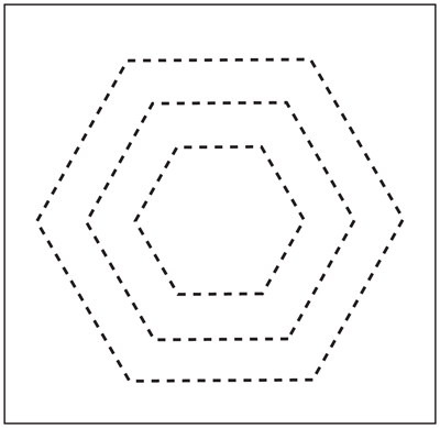 Quilting Templates Hexagon : Plastic Hexagon Quilting Templates - Website of babiaire!