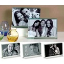 Glass Block Photo Frames