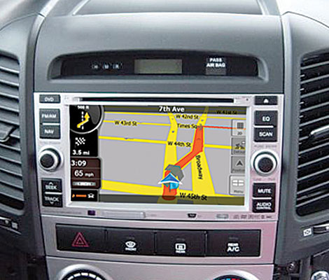 Rosen DS-HY0710-M11 Hyundai Santa Fe Replacement 7 Inch LCD In Dash Factory