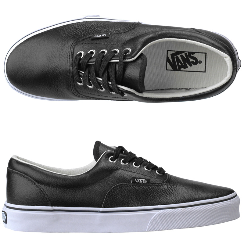 Vans Black Shoes Leather