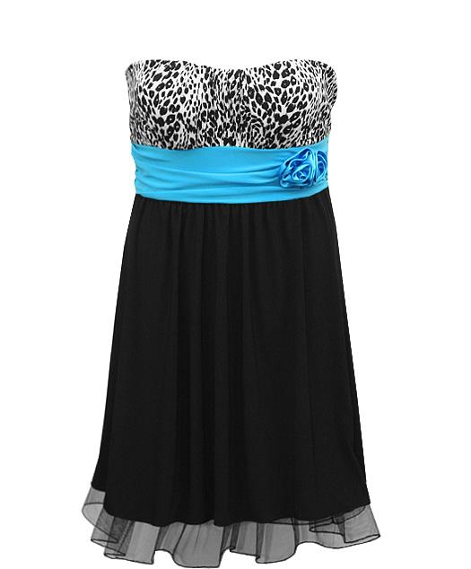 Zebra Plus Size Prom Dresses 71