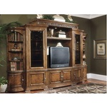 Aico Furniture Paradisio 6-Piece Center TV Console Entertainment Wall