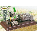 LIONEL #12945 SUNOCO ANIMATED PUMPING OIL STATION